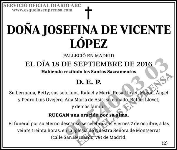 Josefina de Vicente López